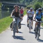 The bikeway