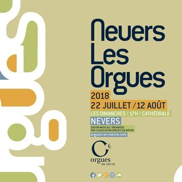Festival Nevers les orgues